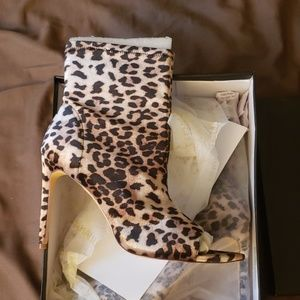 Fashion Nova Cheetah Print Heels
